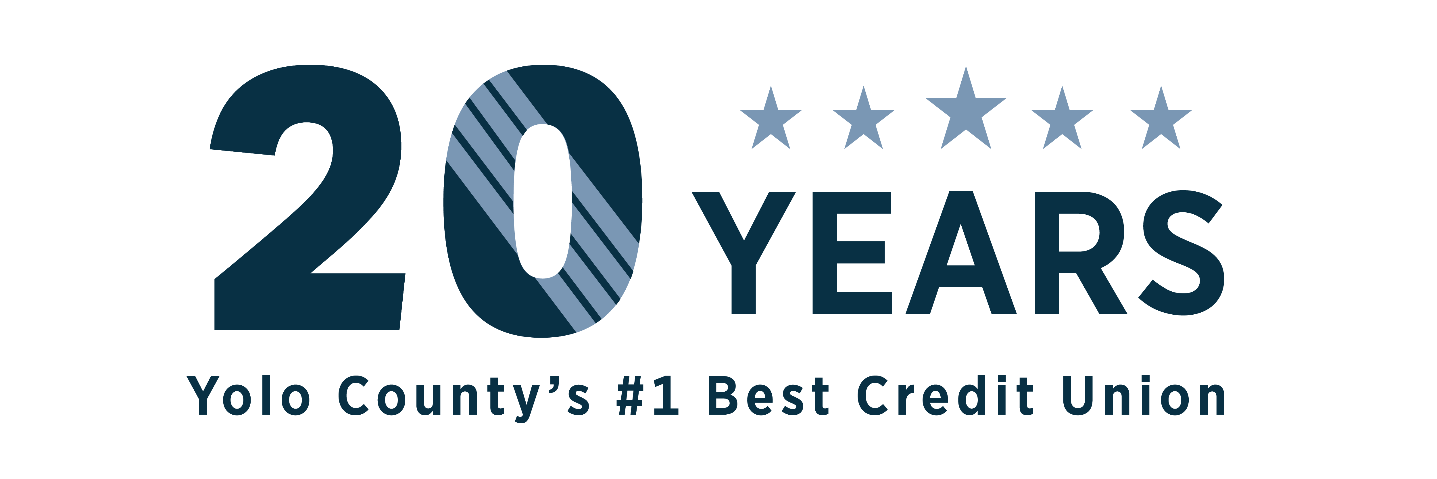 Yolo County's #1 Best Credit Union for 20 years